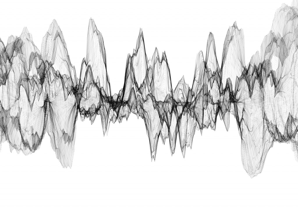 Another Abstract Rendering of A sound wave